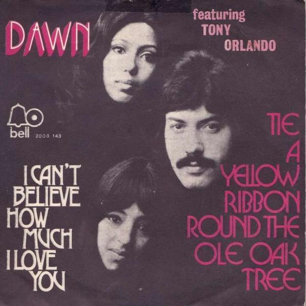 Tie a Yellow Ribbon Round the Old Oak Tree – Tony Orlando and Dawn