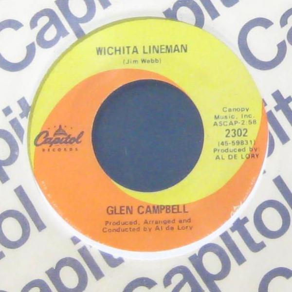 Wichita Lineman – Glen Campbell
