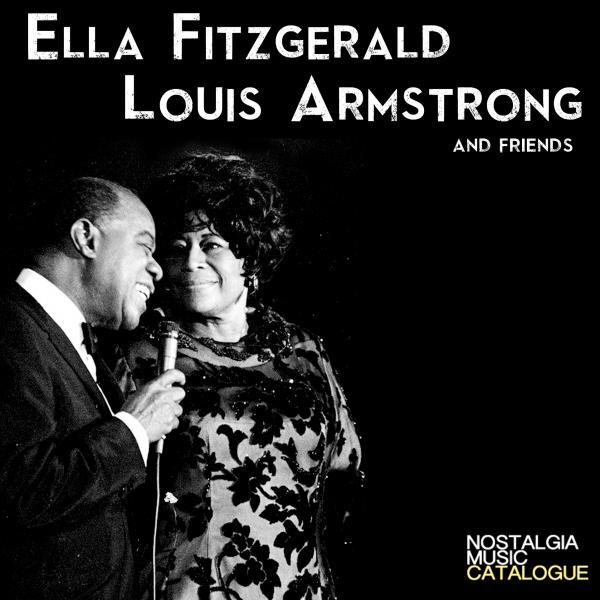 Louis Armstrong and Ella Fitzgerald
