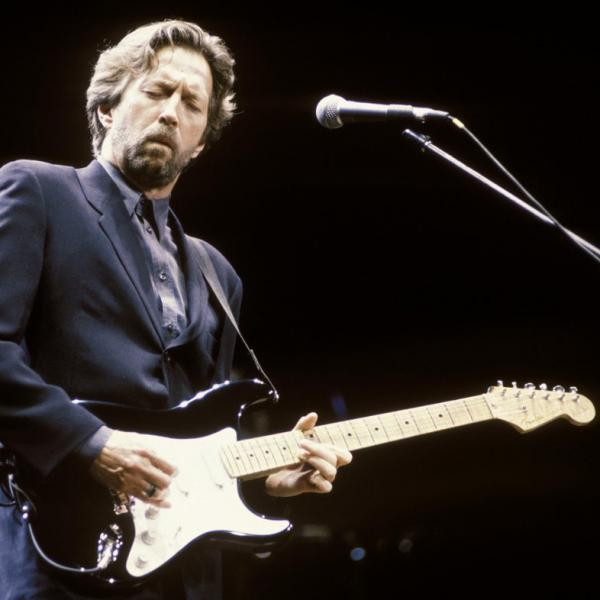Eric Clapton in the 1990's