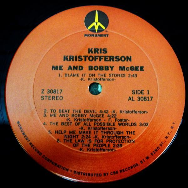 Kris Kristofferson: Me and Bobby McGee