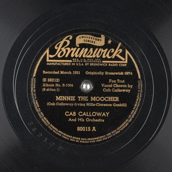 Minnie the Moocher – Cab Calloway & His Orchestra