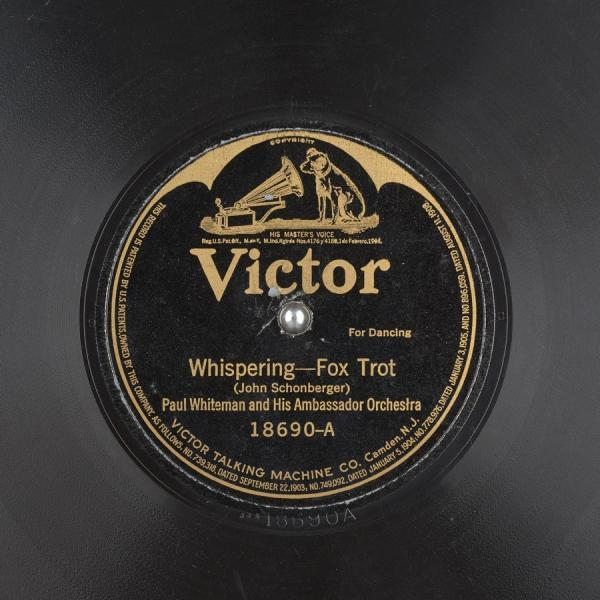 Whispering – Paul Whiteman and his Orchestra