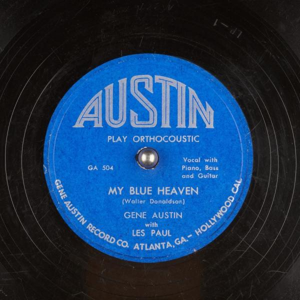 My Blue Heaven – Gene Austin