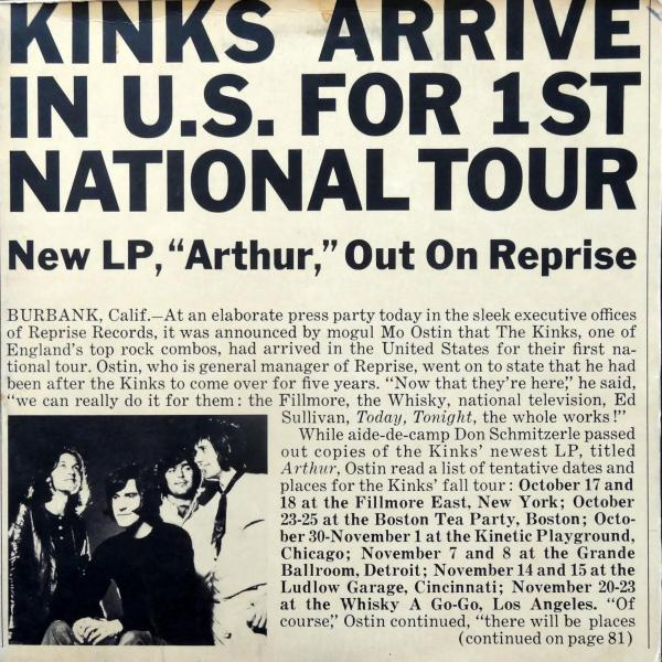 The Kinks - After Arthur