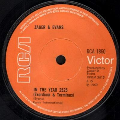 In the Year 2525 – Zager and Evans