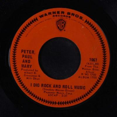 I Dig Rock and Roll Music  – Peter, Paul and Mary