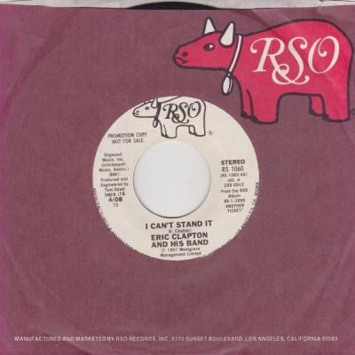 I Can't Stand It - Eric Clapton