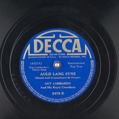 Auld Land Syne – Guy Lombardo