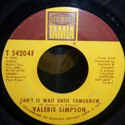 Can't It Wait Until Tomorrow – Valerie Simpson