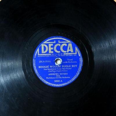 Boogie Woogie Bugle Boy- Andrews Sisters